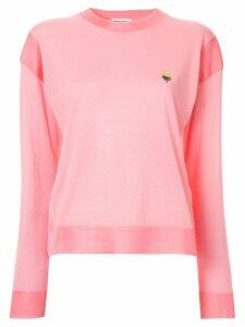 Sonia Rykiel bouquet sweatshirt - Pink