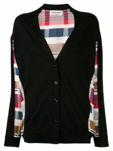 Sonia Rykiel madras patterned cardigan - Black