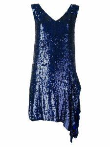 P.A.R.O.S.H. sequin dress - Blue
