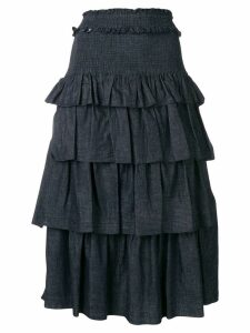 See By Chloé tiered skirt - Blue