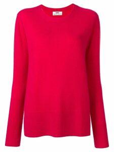 Sminfinity side slit jumper - Pink