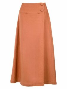 Adriana Degreas midi skirt - Yellow