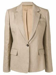 Joseph single breasted blazer - Brown