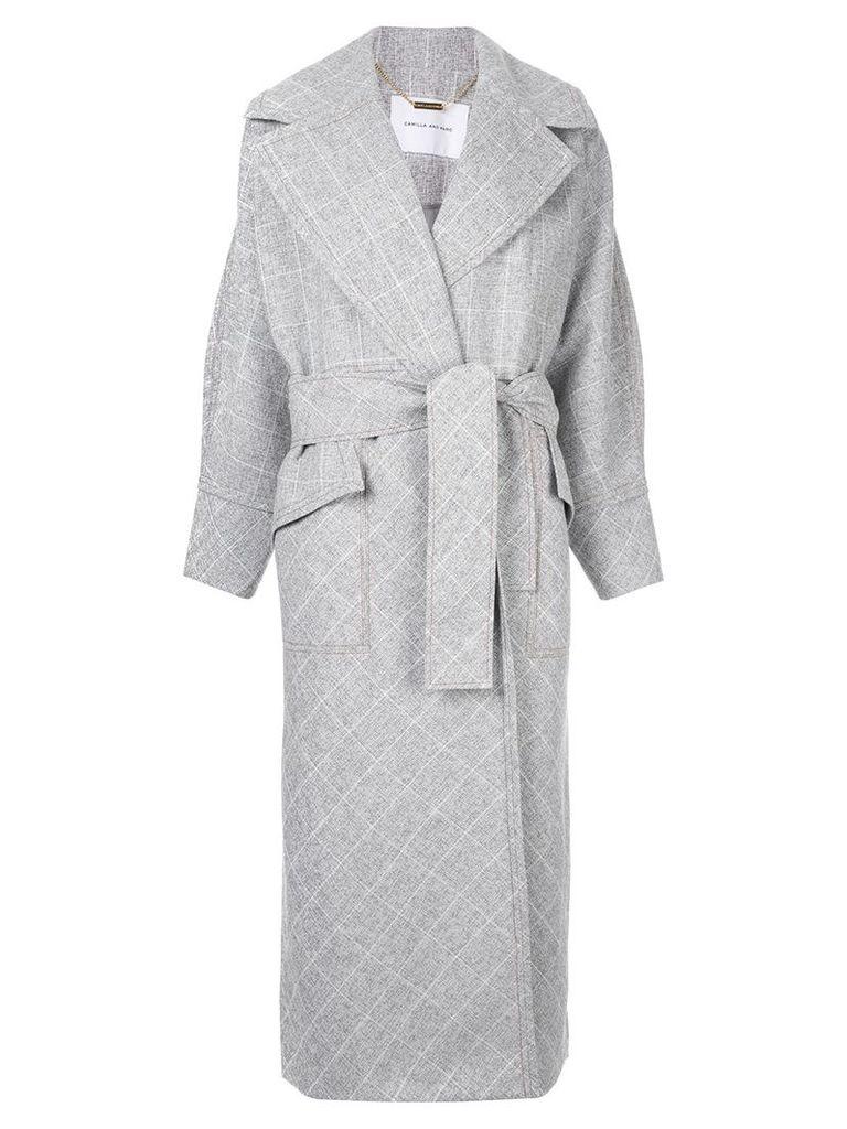 CAMILLA AND MARC Saros Trench Coat - Grey