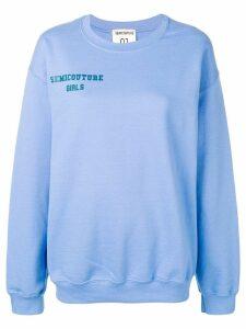 Semicouture 'Francesca' sweatshirt - Blue