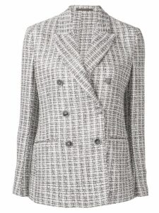 Eleventy bouclé tweed blazer - Brown