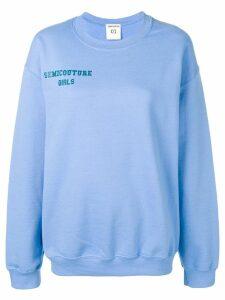 Semicouture 'Silvia' sweatshirt - Blue