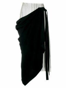 Monse asymmetric skirt - Black