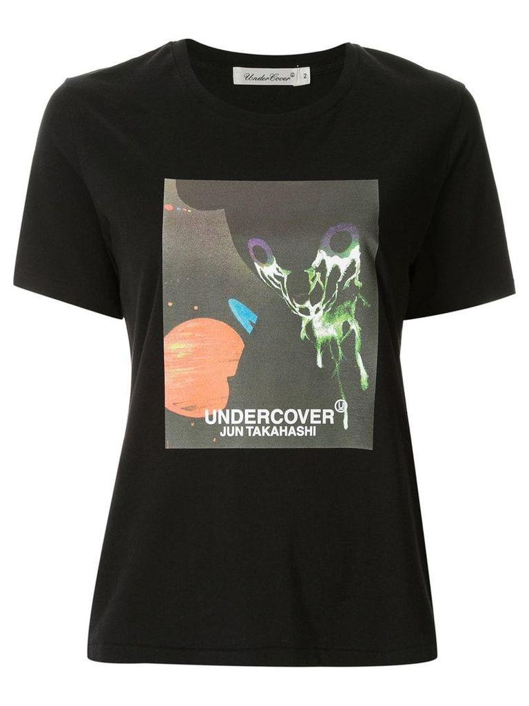Undercover print t-shirt - Black