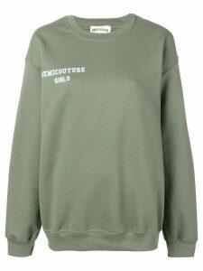 Semicouture 'Caterina' sweatshirt - Green