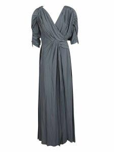 Lanvin Lanvin Long Draped Dress