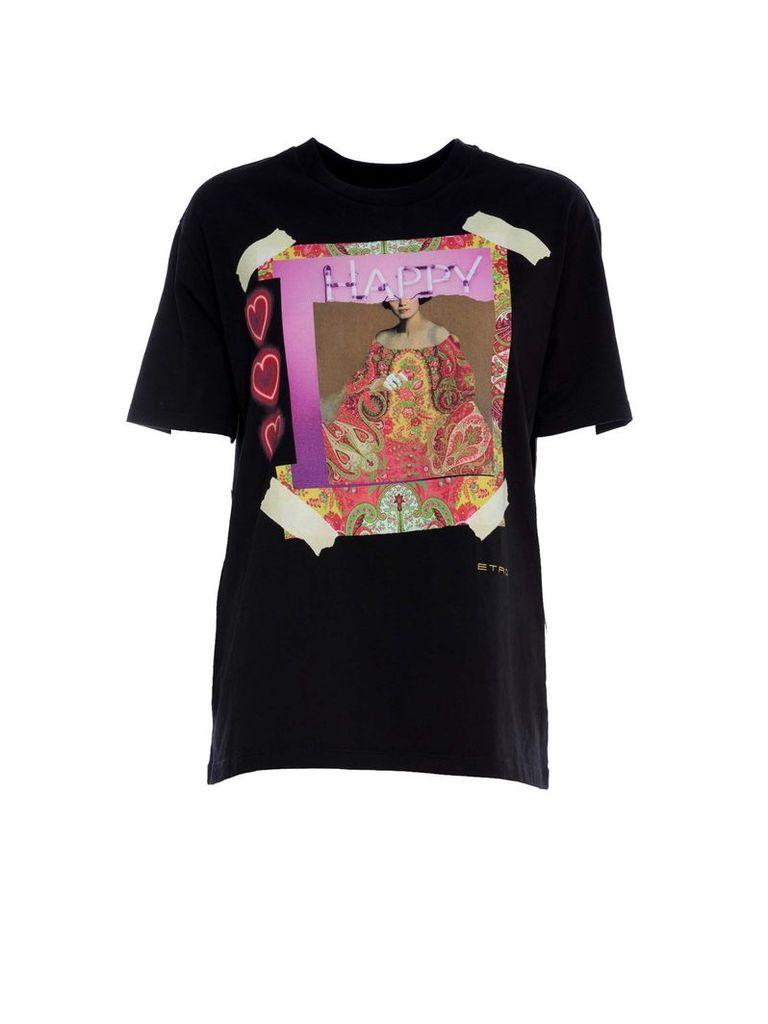 Etro Etro Happy Print T-shirt