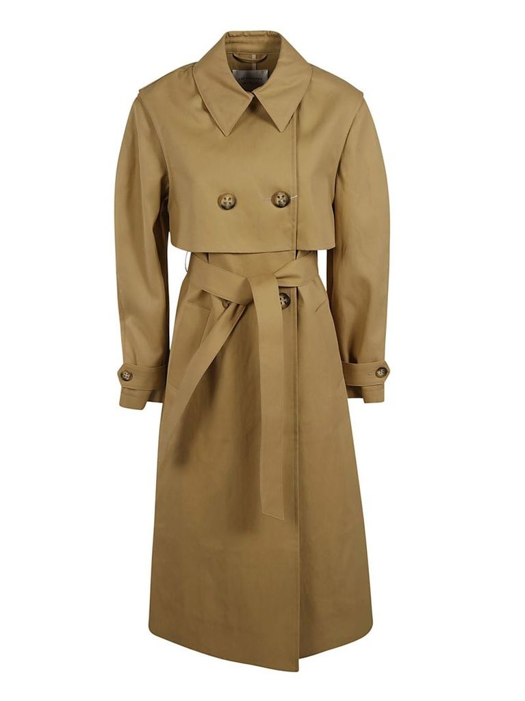 Les Coyotes De Paris Double-breasted Trench Coat