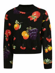 MSGM Msgm Fruit Print Sweater