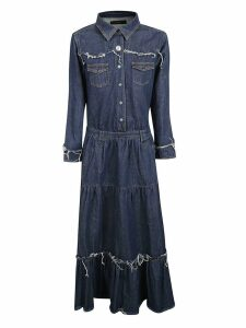 Alanui Denim Maxi Dress