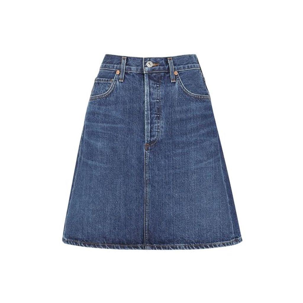 Citizens Of Humanity Lorelle Denim Skirt