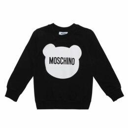 MOSCHINO Teddy Cotton Sweatshirt