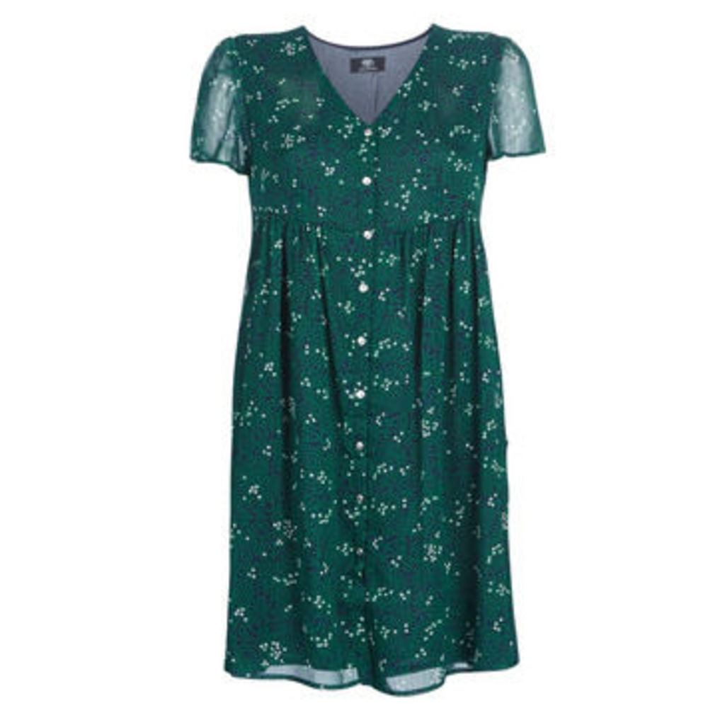 Le Temps des Cerises  DREAM  women's Dress in Green