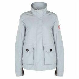 Canada Goose Elmira Light Grey Dura-Force Shell Jacket