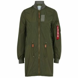 Alpha Industries MA-1 Army Green Shell Parka