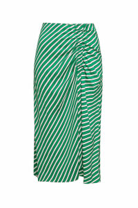 Steffen Schraut Malibu Striped Midi Skirt