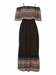 Layered Boho Maxi Dress