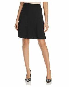 Karl Lagerfeld Paris Pleated A-Line Skirt