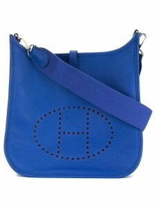 Hermès Pre-Owned Evelyne 3 PM cross body shoulder bag - Blue