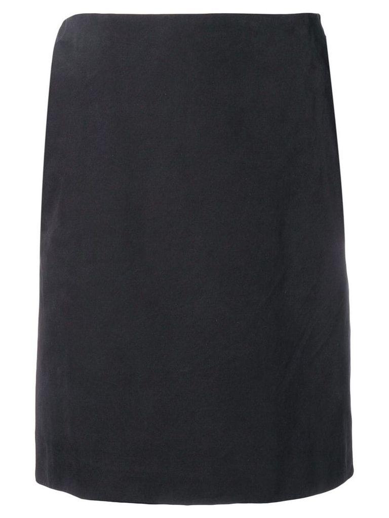 Gianfranco Ferre Vintage 1990's straight slit skirt - Black