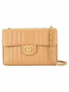 Chanel Pre-Owned Mademoiselle Jumbo XL double chain shoulder bag -