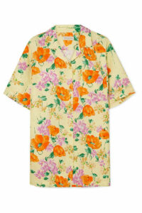 Dries Van Noten - Floral-jacquard Shirt - Yellow