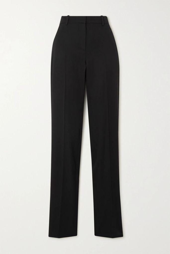 Simone Rocha - Belted Silk Crepe De Chine Midi Dress - Lilac