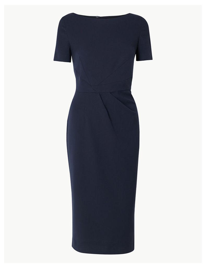 M&S Collection Short Sleeve Bodycon Midi Dress