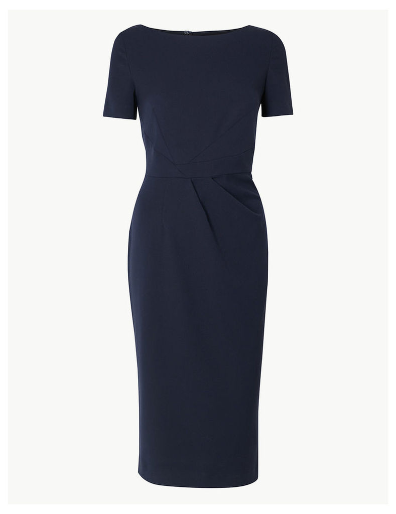 M&S Collection Short Sleeve Bodycon Midi Dress