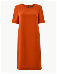 M&S Collection Short Sleeve Shift Dress
