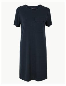 M&S Collection Pocket Front T-Shirt Mini Dress