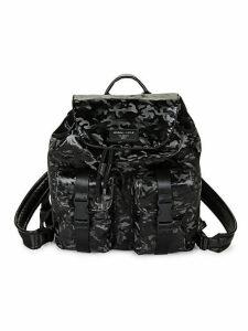 Camo Printed Backpack