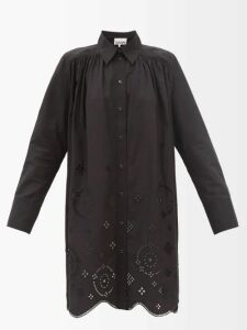 The Row - Sarlie High Neck Silk Coat - Womens - Beige