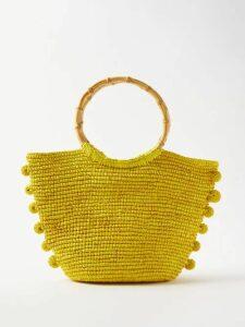 Burberry - Double Breasted Cotton Gabardine Trench Coat - Womens - Beige