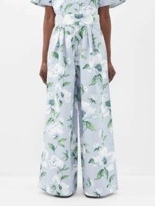Burberry - Single Breasted Cotton Gabardine Trench Coat - Womens - Beige