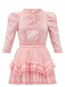 Burberry - Curradine Double Breasted Coated Trench Coat - Womens - Black