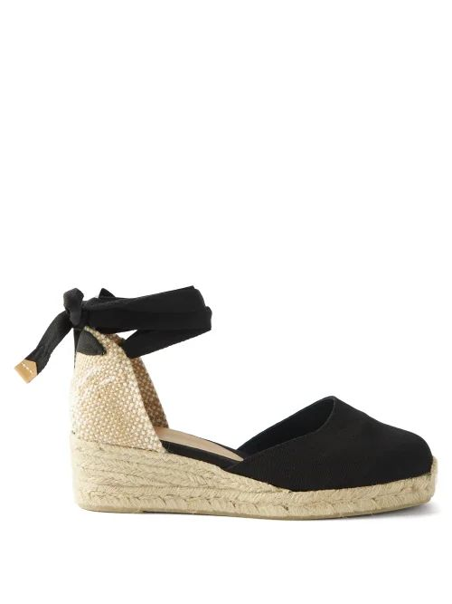 Burberry - Society House Check Canvas Tote Bag - Womens - Beige Multi