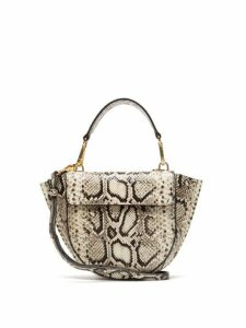 Wandler - Hortensia Mini Python Effect Leather Bag - Womens - Python