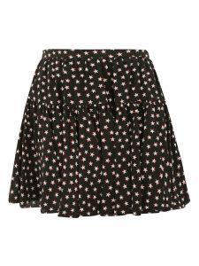 Saint Laurent Star Print Mini Skirt