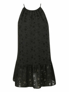 Saint Laurent Perforated Dress