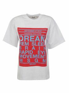 MSGM Dream Print T-shirt