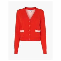 L.K.Bennett Mandy Cardigan, Red