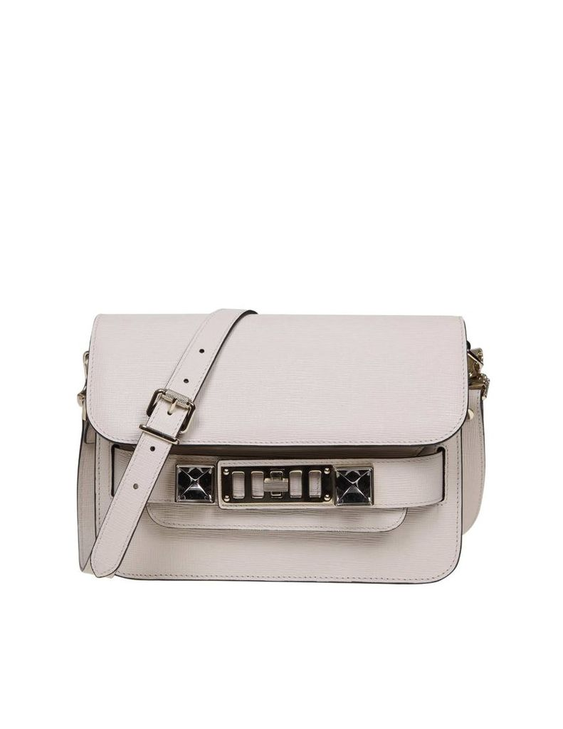 Proenza Ps11 Mini Shoulder Bag In Ivory Color Leather