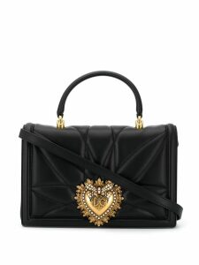 Dolce & Gabbana quilted-effect Devotion tote bag - Black