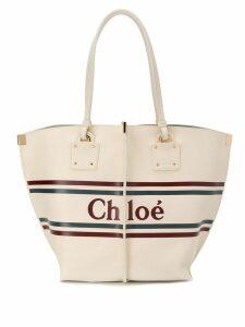 Chloé Vick tote bag - White